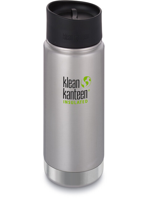 Klean Kanteen Wide Vacuum Insulated - Recipientes para bebidas - Café Cap 2.0 473ml Plateado